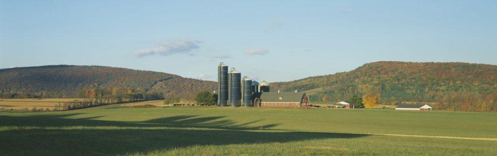 Barn and Silos, Dutchess County, New York