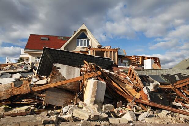Sample devastation from Sandy